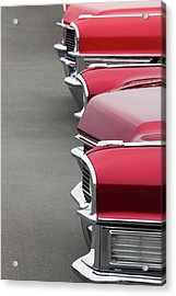1965 Cadillac Deville Convertible Coupe Acrylic Print by Car Culture