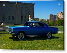 1965 Chevelle Malibu Acrylic Print