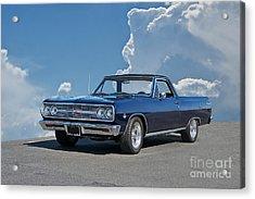 1965 Chevrolet El Camino Acrylic Print by Dave Koontz