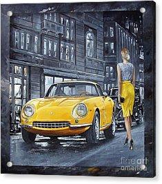 1965 Ferrari 275 Gtb Acrylic Print
