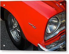 1965 Plymouth Belvedere Acrylic Print