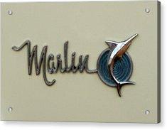 1965 Rambler Marlin Acrylic Print