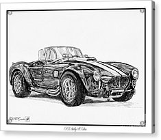 1965 Shelby Ac Cobra Acrylic Print