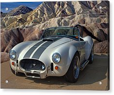1965 Shelby Cobra Replica 427 Acrylic Print by Tim McCullough