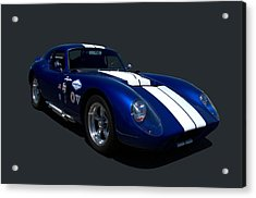 Acrylic Print featuring the photograph 1965 Shelby Daytona Coupe Replica by Tim McCullough