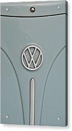 1965 Volkswagen Beetle Hood Emblem Acrylic Print