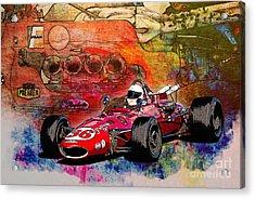 1966 9 Eagle Indy Acrylic Print