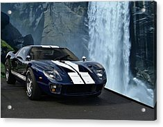 1966 Ford Gt 40 Acrylic Print by Tim McCullough