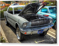 Acrylic Print featuring the photograph 1966 Mustang  by Kevin Ashley