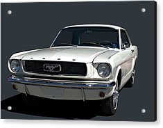 Acrylic Print featuring the photograph 1966 Mustang by Tim McCullough