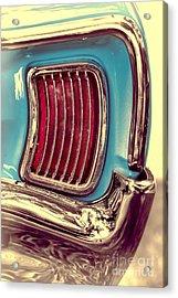 1966 Pontiac Tempest Taillight Acrylic Print