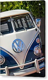 1966 Volkswagen Micro Bus -1012c Acrylic Print