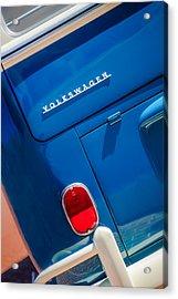 1966 Volkswagen Vw 21-window Deluxe Micro Bus -0553c Acrylic Print