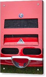 1967 Alfa Romeo Tz2 Zagato Coupe Hood Ornament Acrylic Print by Jill Reger