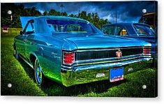 1967 Chevrolet Chevelle Ss Acrylic Print