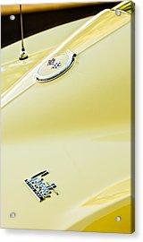 1967 Chevrolet Corvette Sport Coupe Emblem 2 Acrylic Print by Jill Reger