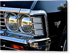 1967 Chevy Impala Front Detail Acrylic Print