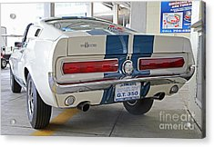 1967 Mustang Shelby Gt-350 Acrylic Print