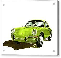 1967 Porsche 911  Acrylic Print