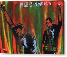 1968 Olympics Acrylic Print by Tony B Conscious