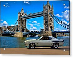 1969 Camaro Yenko Sc Acrylic Print