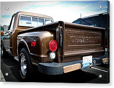 1969 Chevrolet Pickup II Acrylic Print by David Patterson