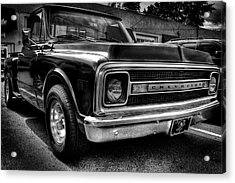 1969 Chevrolet Pickup V Acrylic Print by David Patterson