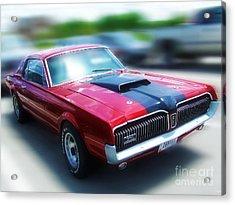 1969 Cougar Acrylic Print