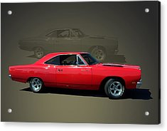 1969 Plymouth 440 Roadrunner Acrylic Print