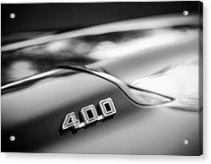1969 Pontiac 400 Firebird Convertible -1039bw Acrylic Print