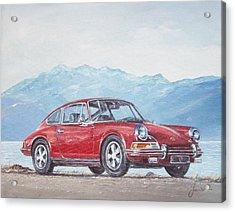 1969 Porsche 911 2.0 S Acrylic Print