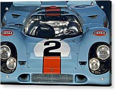 1969 Porsche 911 917k Acrylic Print by Dave Koontz