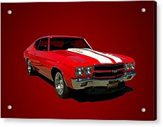 1970 Chevelle Super Sport Acrylic Print by Tim McCullough