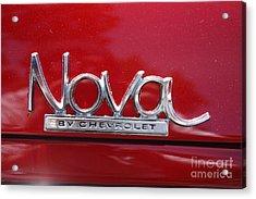 1970 Chevy Nova Logo Acrylic Print