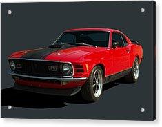 1970 Mustang Mach 1 Acrylic Print