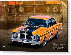 1971 Ford Falcon Xy Gt Acrylic Print