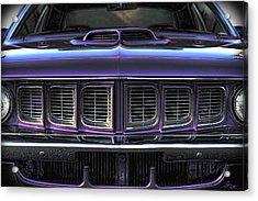 1971 Plymouth 'cuda 440 Acrylic Print by Gordon Dean II