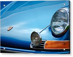 1972 Porsche 911s Hood Emblem Acrylic Print