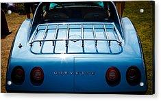 1974 Chevy Corvette Acrylic Print by David Patterson