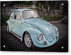 1974 Volkswagen Beetle Vw Bug Acrylic Print by Rich Franco