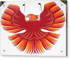 1979 Pontiac Firebird Emblem Acrylic Print by John Telfer
