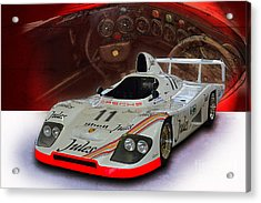 1981 Porsche 936/81 Spyder Acrylic Print