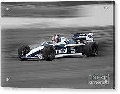 1983 Brabham Bmw Bt52 Acrylic Print