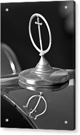 1984 Excalibur Roadster Hood Ornament 2 Acrylic Print by Jill Reger