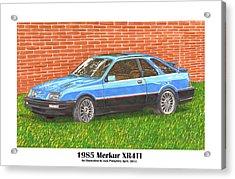 1985 Merkur X R 4 T I Acrylic Print