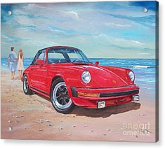 1985 Porsche 911 Targa Acrylic Print