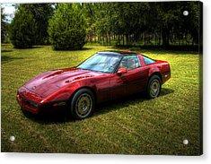 1986 Corvette Acrylic Print