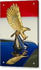 1986 Zimmer Golden Spirit Hood Ornament Acrylic Print