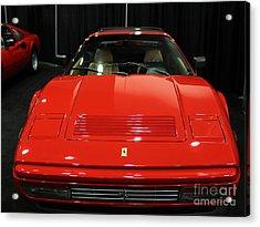 1987 Ferrari 328 Gts - 5d19811 Acrylic Print by Wingsdomain Art and Photography