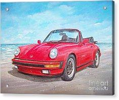 1987 Porsche Carrera Cabriolet Acrylic Print